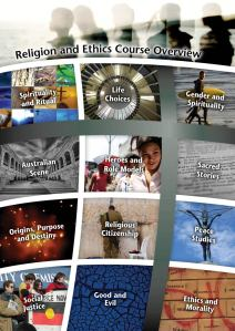 Click on the image to access the Religion and Ethics course.