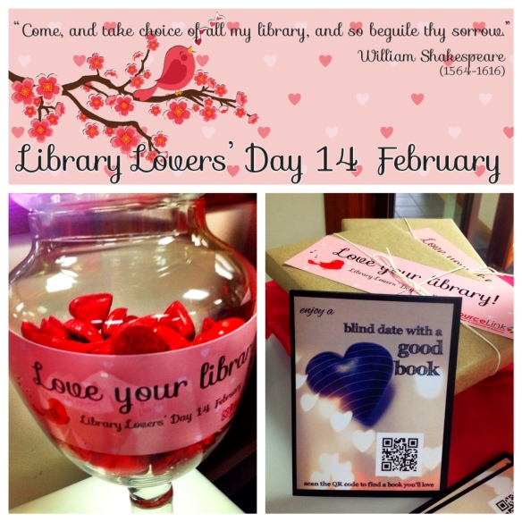 library lovers display